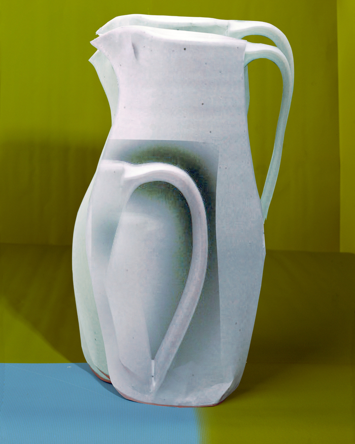 White_pitcher